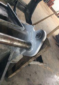 По заказу изготовлен ротор дробилки для измельчения пластика